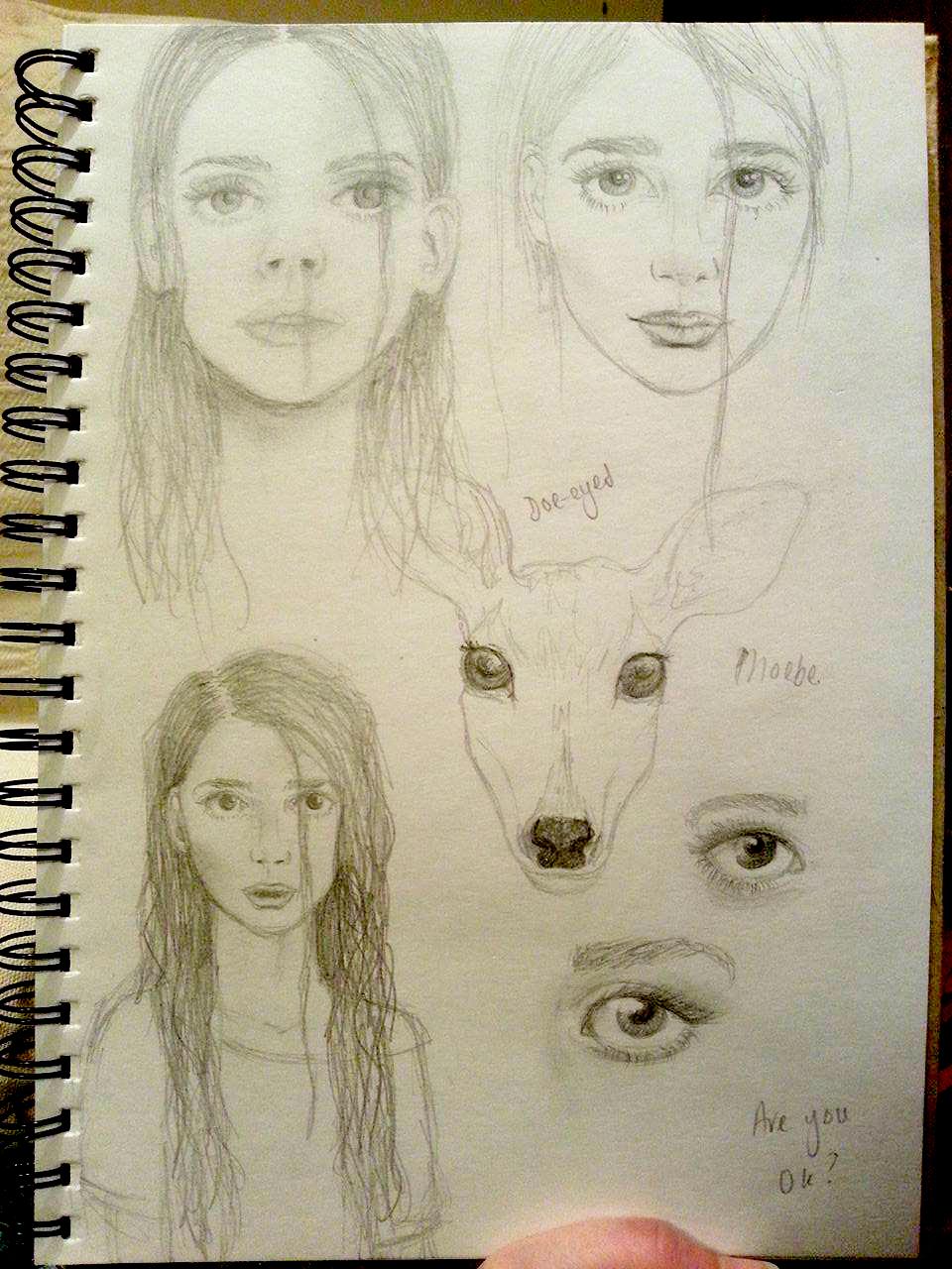 Main Character Sketches at HeyPreston.co.uk